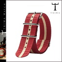 Tri TRIWA TRIWA dedicated strap STNY125 BURGUNDY NATO men women