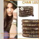 チャンルー CHAN LUU bracelet [Labradorite] BS-1289 LABRADORITE Handmade Leather Womens mens [regular]
