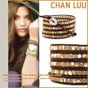 Changle CHAN LUU bracelet [natural mother of Pearl] BS-1289 NATURALMOP Handmade Leather Womens mens [6 / 11 restock] [regular]