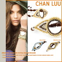 チャンルー CHAN LUU bracelets 2 colors BSZ-3432 BROWN MIX / BLUE MIX hand-made Leather Womens mens [regular]