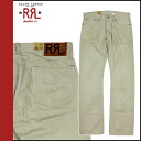 Cotton pants men's doubles Aurel RRL DOUBLE RL Ralph Lauren corduroy pants [beige]
