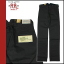 Double are L RRL DOUBLE RL Ralph Lauren cotton underwear [black] denim men