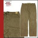 Double are L RRL DOUBLE RL Ralph Lauren chino pants [brown] chino pants men [regular]