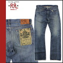Double are L RRL DOUBLE RL Ralph Lauren denim jeans [indigo] jeans jeans bootcut men