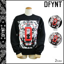 14 ディファイエント DFYNT CLOTHING trainer [black gray] sweat shirt men [regular]