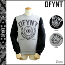 12 ディファイエント DFYNT CLOTHING trainer [black gray] sweat shirt men [regular]