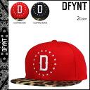 ディファイエント DFYNT CLOTHING snapback cap [red black] SNAPBACK CAP hat men [regular] 02P31Aug14