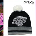 Settlement of accounts sale point 10 times Joey rich JOYRICH knit cap [black] U13K6GD beanie knit hat men gap Dis unisex [regular]