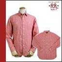 Double are L RRL DOUBLE RL Ralph Lauren long sleeves button shirt [red] BUTTON SHIRT men [regular] 02P31Aug14