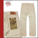 Point 5 x double Aurel RRL DOUBLE RL Ralph Lauren cotton pants [beige] COTTON PANT men's 05P13Dec13_m