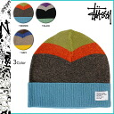 132501 point 10 times ステューシー STUSSY knit cap [3 colors] beanie knit hat men [regular]