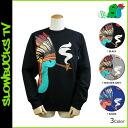 Point 2 x 3 color Throwbacks SLOWBUCKS trainer 33563 SB sweatshirts men's [regular] P06Dec14