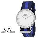 Daniel Wellington Daniel Wellington watch 36 mm [Silver] SWANSEA LADY CLASSIC ladies watch watches [genuine]