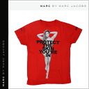 Mark by MARC BY marc jacobs MARC BY MARC JACOBS short sleeves T-shirt men gap Dis charity T-shirt half sleeve SKINRONDA T-SHIRT red SKIN TEE RONDA ROUSEY unisex [7/16 reentry load] [regular]