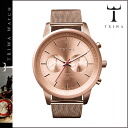 Thoria TRIWA watch NEST106 ROSE NEVIL men gap Dis watch clock leather unisex Rose [7/9 reentry load] [regular]