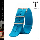 Strap [turquoise] STNY112 TURQUOISE NATO STRAP men gap Dis [2/14 Shinnyu load] [regular] for exclusive use of thoria TRIWA★★