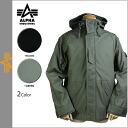 Alpha ALPHA INDUSTRIES mountain parka [black green] NYCO ECWCS men jacket MJE39016C1 [2/21 Shinnyu load] [regular]★★