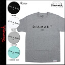 Diamond supply Diamond Supply Co short sleeves T-shirt TEE [4 colors] DIAMANT PARIS T-SHIRT men T-shirt [regular]