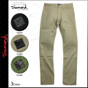 Men's diamond supply Diamond Supply Co Chino pants 3 color MILITARY CHINO [regular]