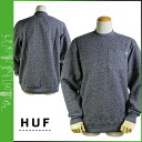 HUF Hough sweat shirt trainer [Heather] GRANITE POCKET CREW men HUFFL34006 [2/21 Shinnyu load] [regular]★★