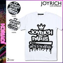 Joey Rich JOYRICH short sleeves T-shirt TEE [black white] T-SHIRT men gap Dis T-shirt unisex U1421TE [3/14 Shinnyu load] [regular]★★