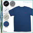 Patagonia patagonia short sleeve T shirt TEE 5 color 51536 MEN's LINE LOGO T-SHIRT mens tee shirt [2 / 24 new in stock] [regular]