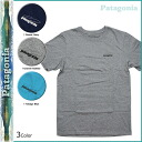 Patagonia patagonia short sleeve T shirt TEE 3 color 51808 TROUT MEN's FITZ ROY T-SHIRT mens tee shirt [2 / 24 new in stock] [regular]