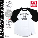 Extra large XLARGE 7 minutes Raglan Sleeve T shirt 3 color FTW BASEBALL T-SHIRT men's long T M1A14016 [regular]