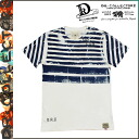 Dr.Collectors doctor collectors short sleeve T shirt TEE [blue] MULTIES STRIPES mens ladies T-SHIRT tee shirt [regular]