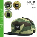 HUF Hough Snapback Cap 3 color CAMO SNAPBACK JAPANESE men's hat [4 / 21 new in stock] [regular] fs04gm