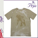 Men's tee shirt T-SHIRT ピーアールピーエス PRPS short sleeve T shirt TEE [Khaki] [regular] fs04gm