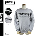 Thrasher-THRASHER SKATE MAG CREW SWEAT men's Sweatshirts trainer [2 color] [regular] 02P01Jun14