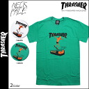 Thrasher THRASHER×NECKFACE short sleeve T shirt TEE 2 colors NECKFACE T-SHIRT mens tee shirt collabo [regular]