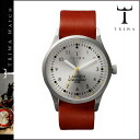 Thoria TRIWA watch [silver X brown] STIRLING LANSEN BROWN MONO men gap Dis unisex LAST102 [regular]