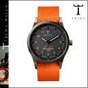 Thoria TRIWA watch [black X orange] WALTER LANSEN ORANGE MONO CANVAS men gap Dis unisex LAST109 [regular] 02P20Sep14