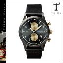 Point 2 x Tri TRIWA watches [Black / Black] WALTER LANSEN CHRONO BLACK CLASSIC mens Womens unisex LCST101 [regular] 02P01Nov14