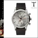 Tri TRIWA watches [Silver x Black] STIRLING LANSEN CHRONO BLACK CLASSIC mens Womens unisex LCST102 [regular]
