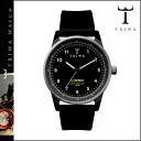 Tri TRIWA watches [Black × Black, MIDNIGHT RUBBER LOMIN mens Womens unisex LOAC102-R [4 / 14 new in stock] [regular] fs04gm