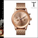 Thoria TRIWA watch [Rose gold] ROSE NEVIL men gap Dis unisex NEST106 [4/14 Shinnyu load] [regular]★★