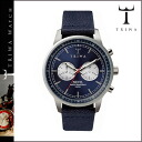 Tri TRIWA watches [blue x Navy, BLUE STEEL NEVIL NAVY CLASSIC CANVAS mens Womens unisex NEST108 [4 / 14 new in stock] [regular] fs04gm