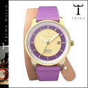 Tri TRIWA watches [パープルゴールド × purple] PURPLE GOLD NIBEN PURPLE TWIST CANVAS mens Womens unisex NIST102 [4 / 14 new in stock] [regular] fs04gm
