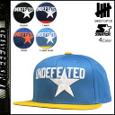 Undefeated UNDEFEATED×STARTER snap back Cap [4 colors] STAR STARTER SNAPBACK mens collaboration Hat [regular]