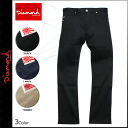 Men's diamond supply Diamond Supply Co Chino pants Chino pants 3 color SKATE LIFE STRETCH CHINO [regular]