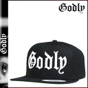 Point double Godlee Godly New York snapback cap [black] CLASSIC GODLY SNAPBACK CAP men hat [regular] 02P31Aug14