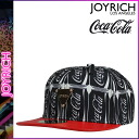Black Coca-Cola SNAPBACK unisex [6/18 Shinnyu load] [regular] latest for point 10 times Joey Rich JOYRICH X Coca Cola snapback cap men gap Dis Coca-Cola collaboration 2,014 years