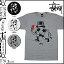 Stussy STUSSY short sleeve T shirt tee shirt men's 2014, new NTRNTNL soccer 3 color OUTTA HERE TEE [7 / 11 new stock] [regular]