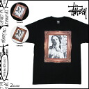 Stussy STUSSY short sleeve T shirt tee shirt men's 2014 new 2 color VENUS FRAME TEE [7 / 11 new stock] [regular]