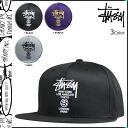 ステューシー STUSSY strap back cap [3 colors] CITY STOCK STRAPBACK CAP men [regular] 02P31Aug14