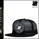 Point 2 x undefeated UNDEFEATED Cap [Black] BAD SPORTS MESH TRUCKER CAP mens snap back hat in 2014, new [genuine]