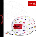 White NAUTICAL FLAGS CAMP HAT [7/28 Shinnyu load] [regular] latest for 5 diamond supply Diamond Supply Co camping cap men panel 2,014 years★★